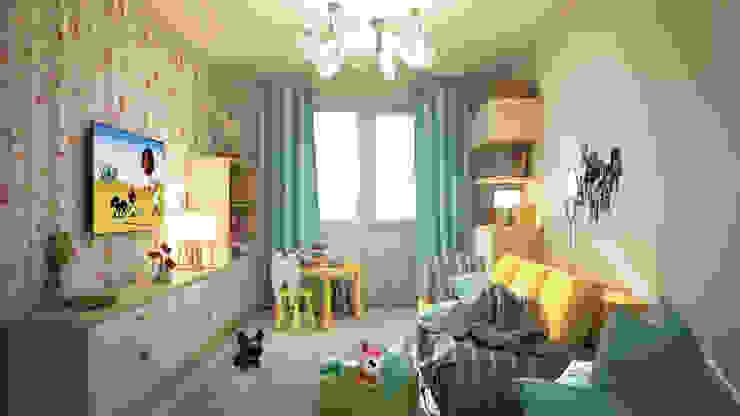 Детская Детская комнатa в классическом стиле от tatarintsevadesign Классический