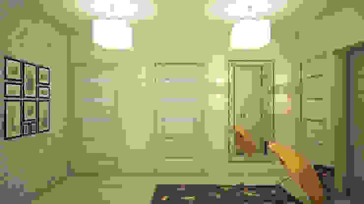 Прихожая Коридор, прихожая и лестница в классическом стиле от tatarintsevadesign Классический