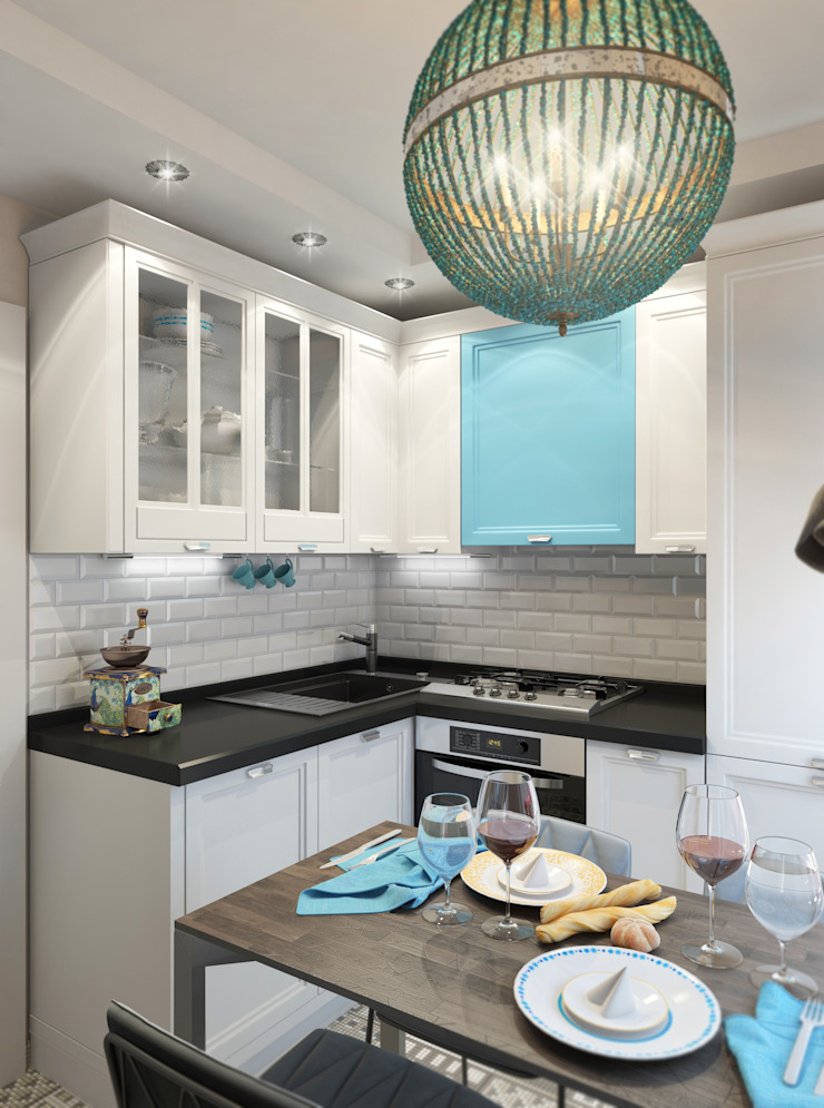 Кухня Кухня в средиземноморском стиле от tatarintsevadesign Средиземноморский