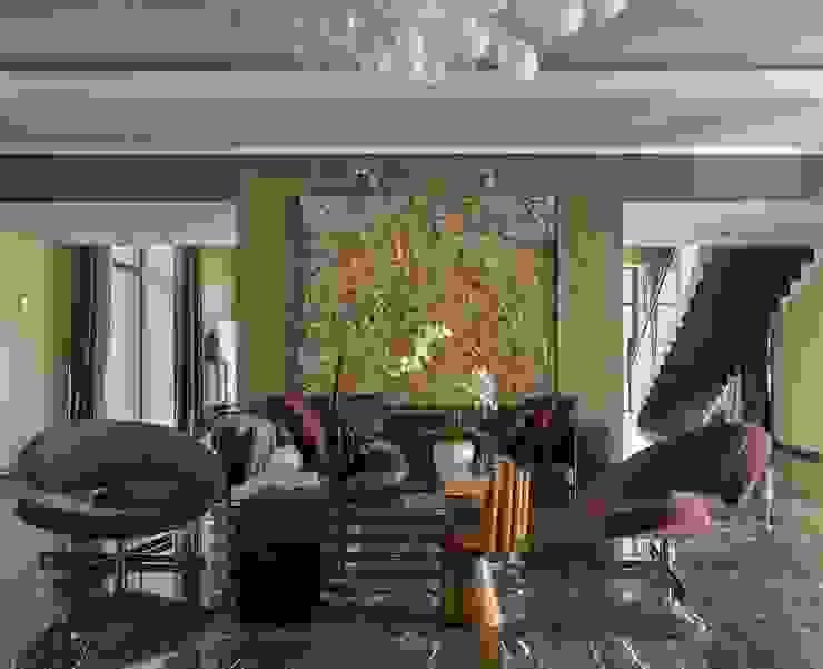 Холл Коридор, прихожая и лестница в эклектичном стиле от Chdecoration Эклектичный