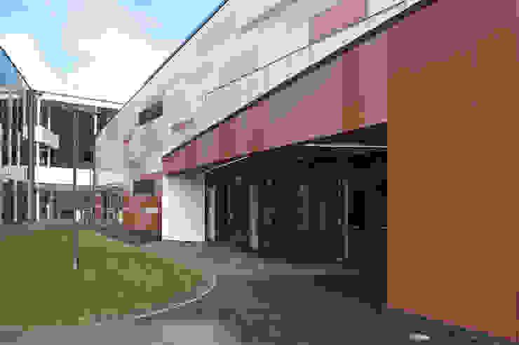 Community Entrance at St Bartholomew's School ArchitectureLIVE Schools