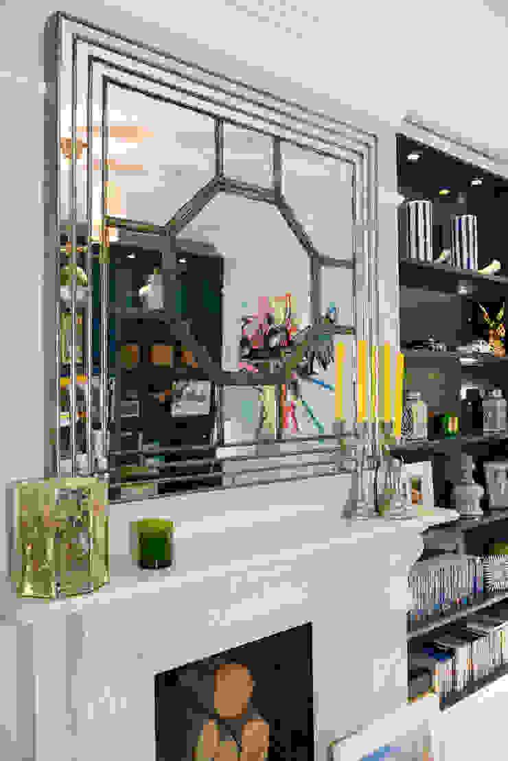 Living Room Ruth Noble Interiors Soggiorno eclettico