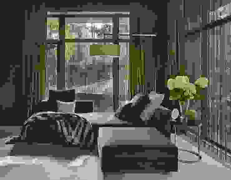 Дом в Подмосковье Спальня в эклектичном стиле от Chdecoration Эклектичный