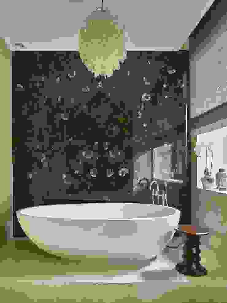Дом в Подмосковье Ванная комната в эклектичном стиле от Chdecoration Эклектичный