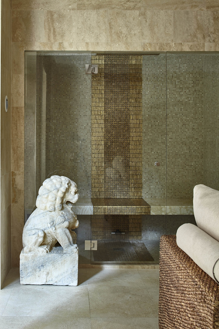 Дом в Подмосковье Спа в эклектичном стиле от Chdecoration Эклектичный