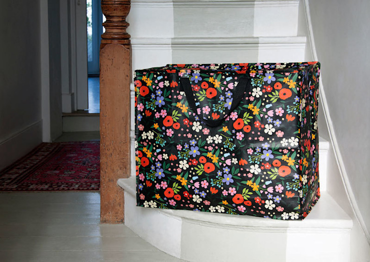 Midnight Garden Design Jumbo Storage Bag par Dotcomgiftshop Éclectique