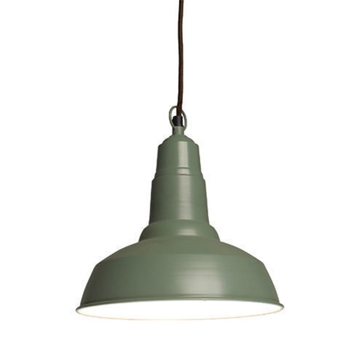 Small Utility Light Royal Green par Dotcomgiftshop Éclectique