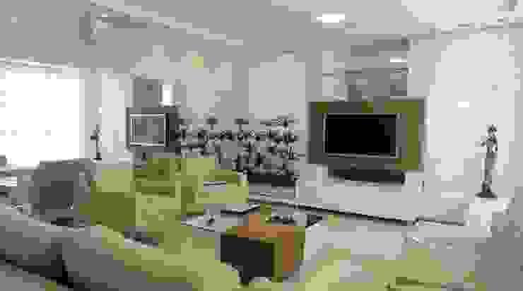 Living room oleh Kubbo Arquitetos