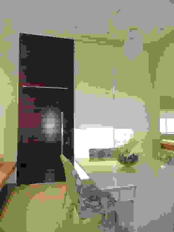 Interior Residência Salas de jantar modernas por Kubbo Arquitetos Moderno