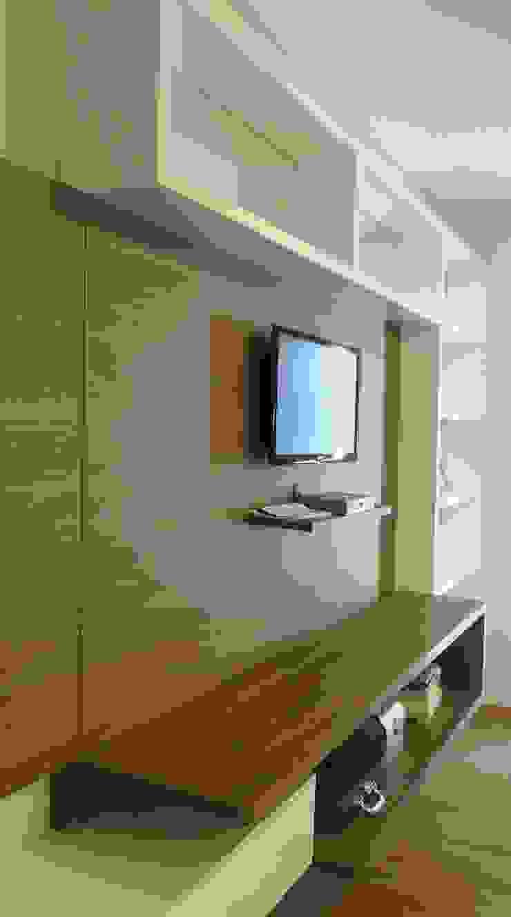 Interior Residência Quartos modernos por Kubbo Arquitetos Moderno