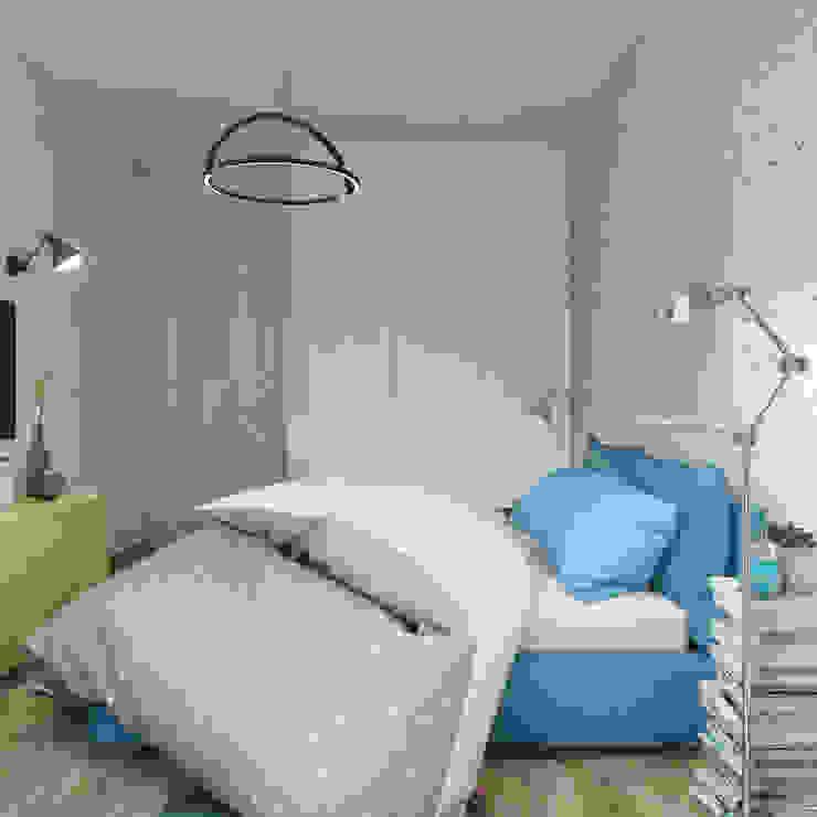 Спальня Спальня в стиле лофт от tatarintsevadesign Лофт