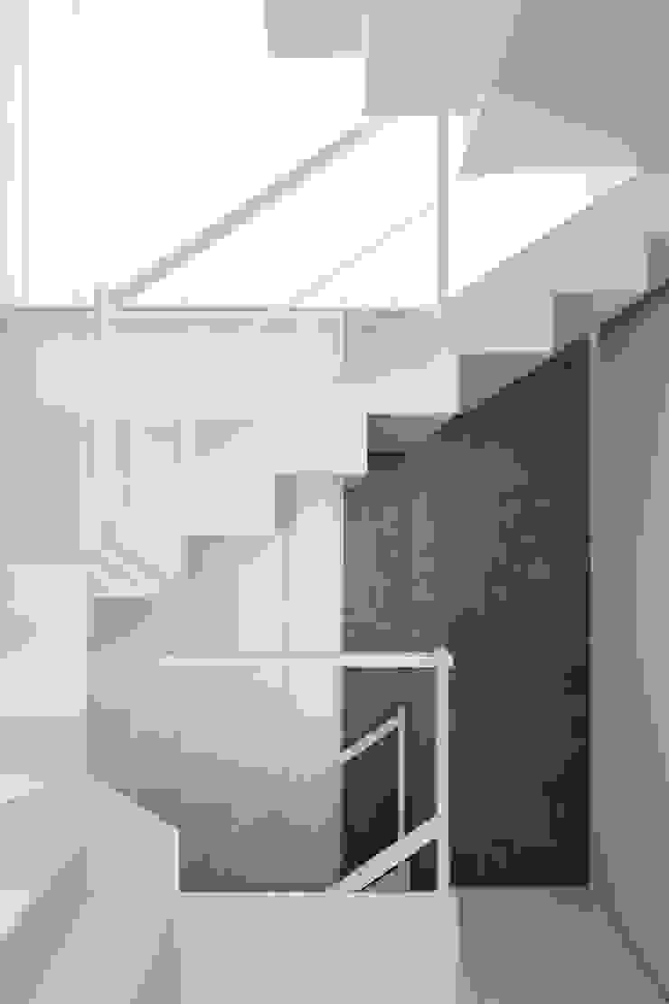 Detalle escalera RUE Pasillos, vestíbulos y escaleras de estilo clásico