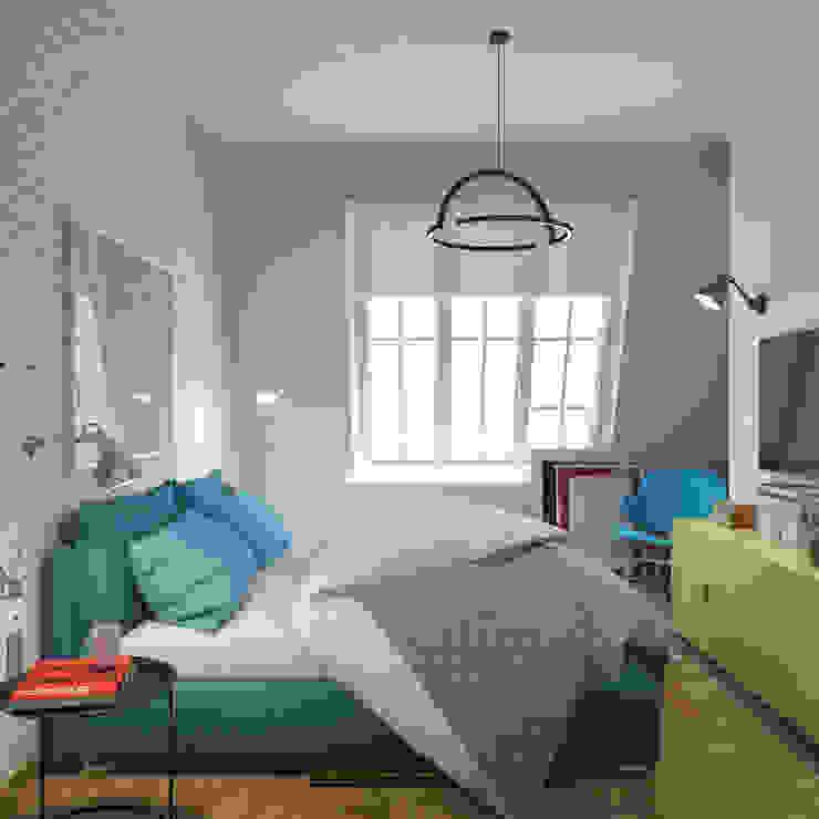 Спальня Спа в стиле лофт от tatarintsevadesign Лофт