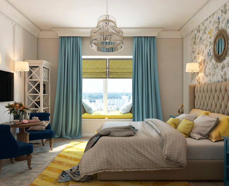 Classic style bedroom by tatarintsevadesign Classic