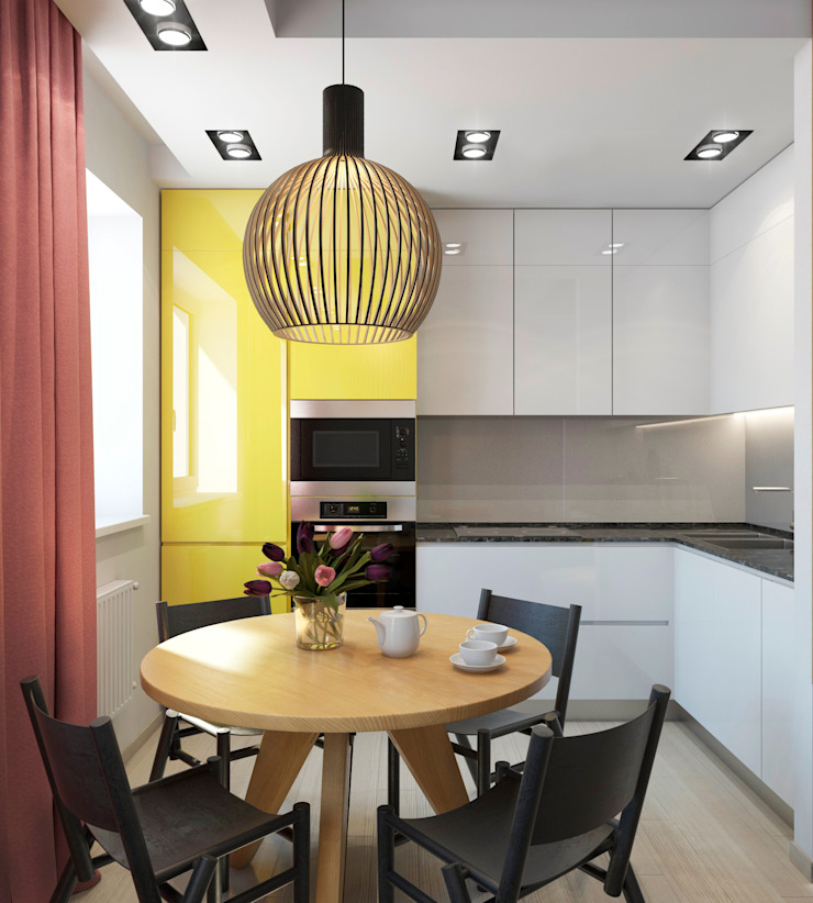 Кухня Кухня в стиле минимализм от tatarintsevadesign Минимализм