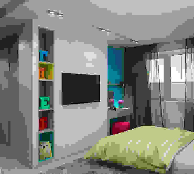Спальня Спальня в стиле минимализм от tatarintsevadesign Минимализм