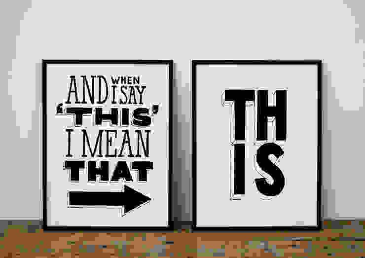I Mean That! van Lennart Wolfert - Graphic Artist Minimalistisch