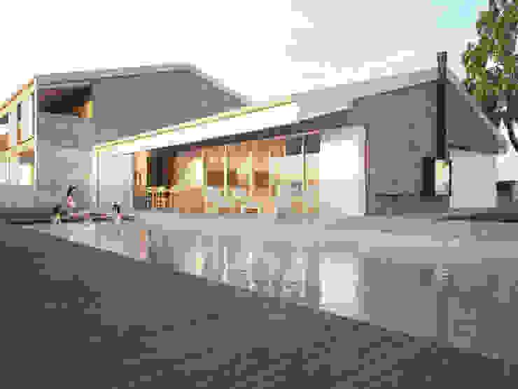 Maisons modernes par Memento Architects Moderne