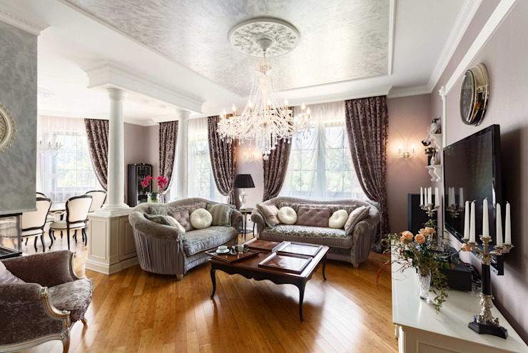 Classic style living room by AGRAFFE design Classic