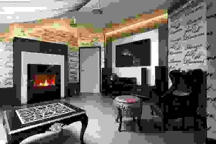 Ruang Media Klasik Oleh AGRAFFE design Klasik