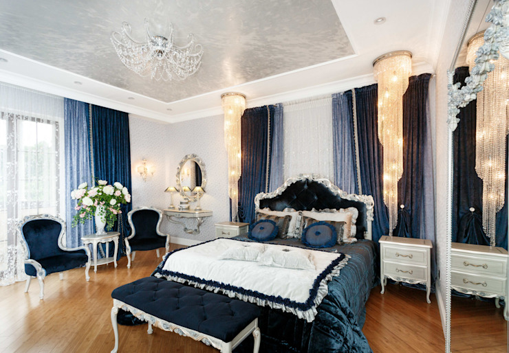 AGRAFFE design Classic style bedroom