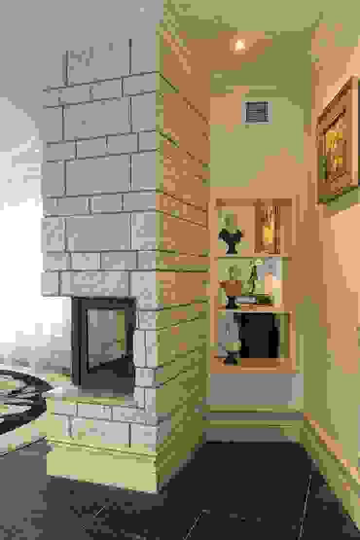 Phòng khách phong cách kinh điển bởi AGRAFFE design Kinh điển