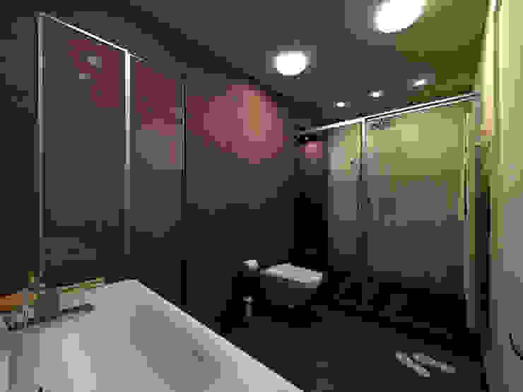 Квартира в г.Калининграде Ванная комната в стиле минимализм от AGRAFFE design Минимализм