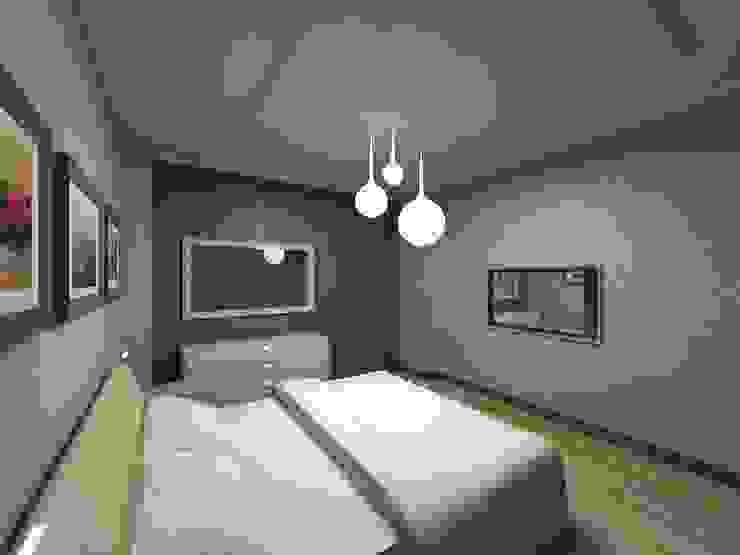 AGRAFFE design Kamar Tidur Minimalis