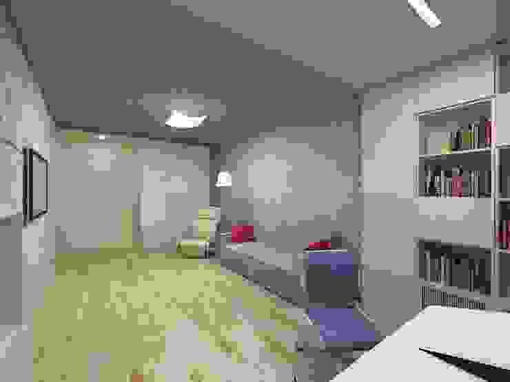 Квартира в г.Калининграде Детская комнатa в стиле минимализм от AGRAFFE design Минимализм