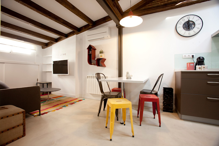 32 m2 en Madrid / Mini aparment de Conejero Arquitectura