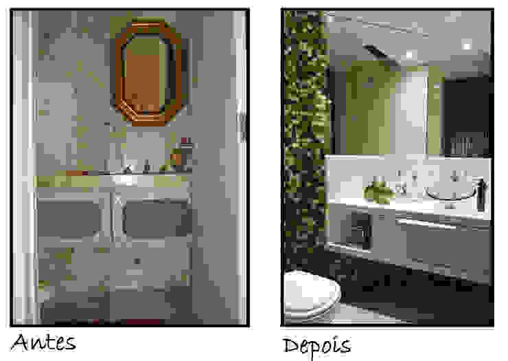 Antes e Depois por Celia Beatriz Arquitetura Moderno
