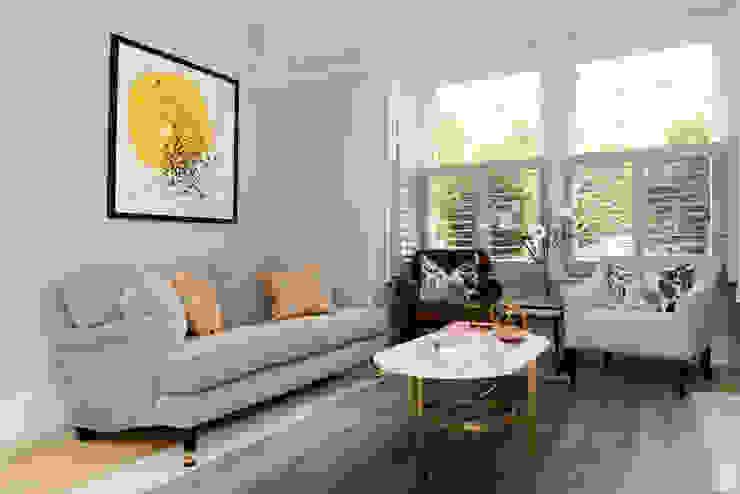 Living Room Ruth Noble Interiors Soggiorno classico