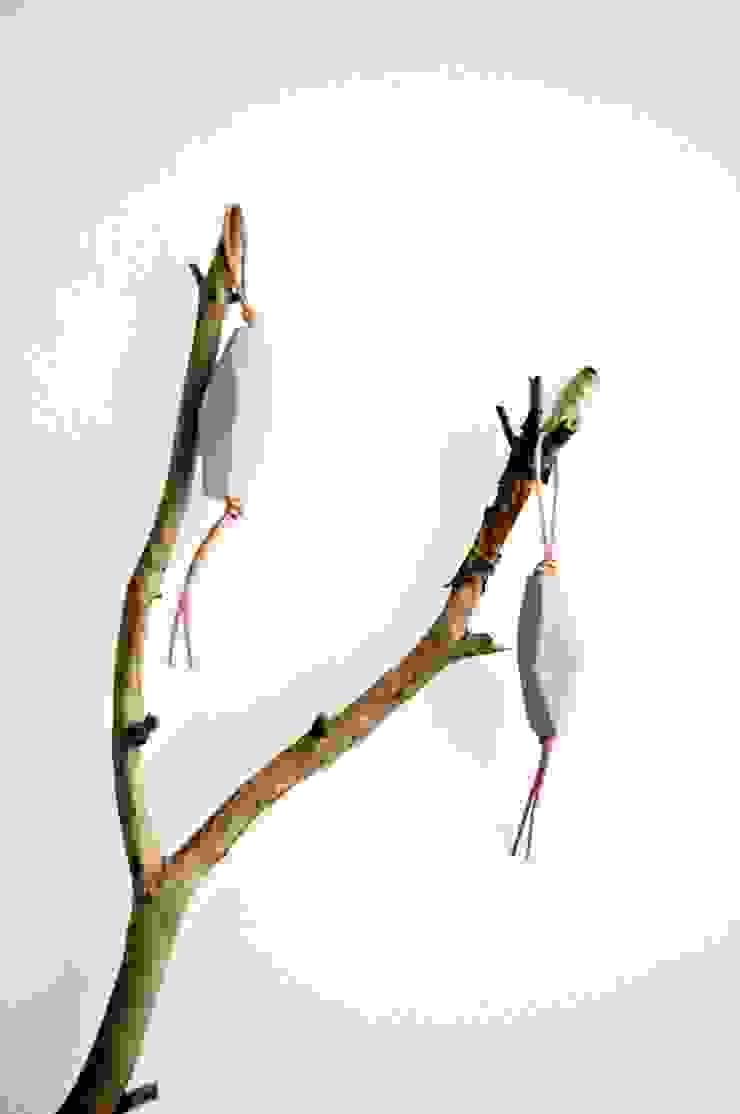 Brelok POLYGON od AnyTHING Manufacture of Wood Minimalistyczny