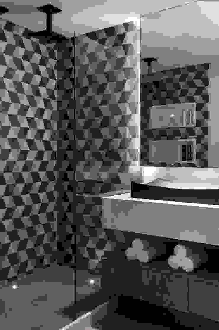 Lavabos e Banheiros Banheiros modernos por Celia Beatriz Arquitetura Moderno