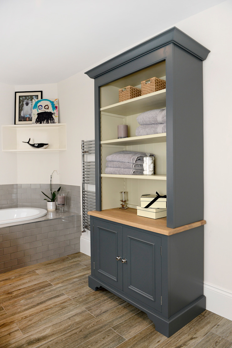 Family Home Ruth Noble Interiors BathroomStorage