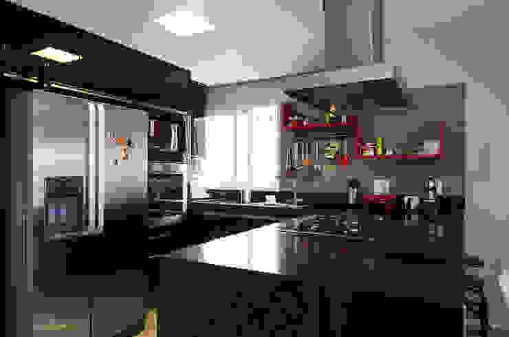 Apartamento Vila Nova Conceição Cozinhas modernas por Marcella Loeb Moderno