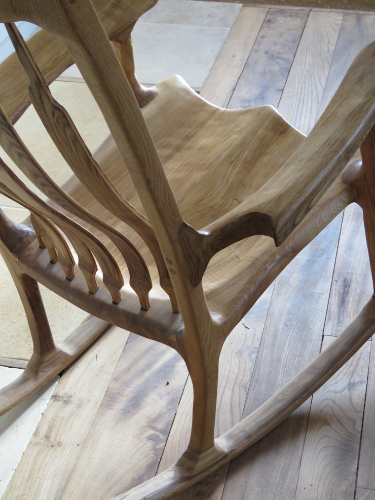Olive ash rocking chair Auspicious Furniture Living roomSofas & armchairs