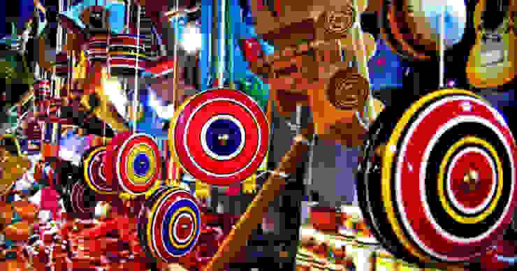 Juguetes típicos mexicanos de MoMé - Mobiliario México Ecléctico