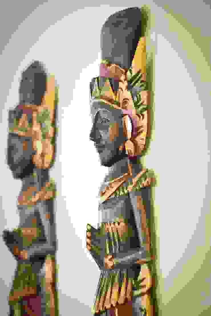 Objetos de decoração etnicos por INOVA Arquitetura Asiático