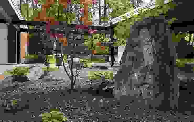 아시아스타일 정원 by Ecologic City Garden - Paul Marie Creation 한옥