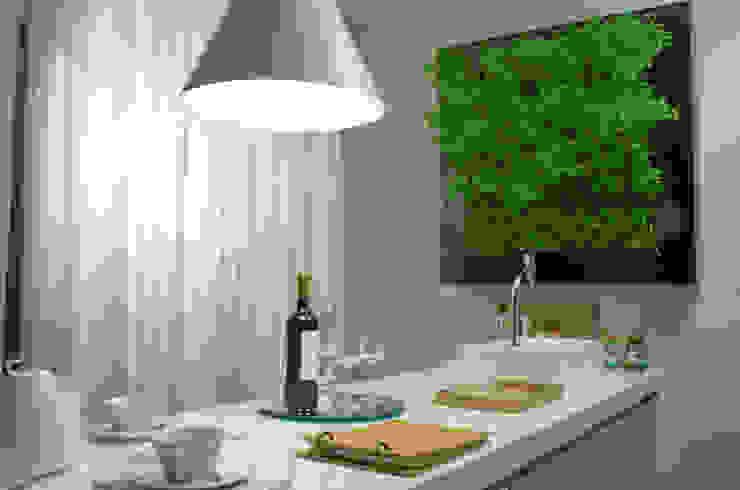 Кухня в . Автор – Quadro Vivo Urban Garden Roof & Vertical,
