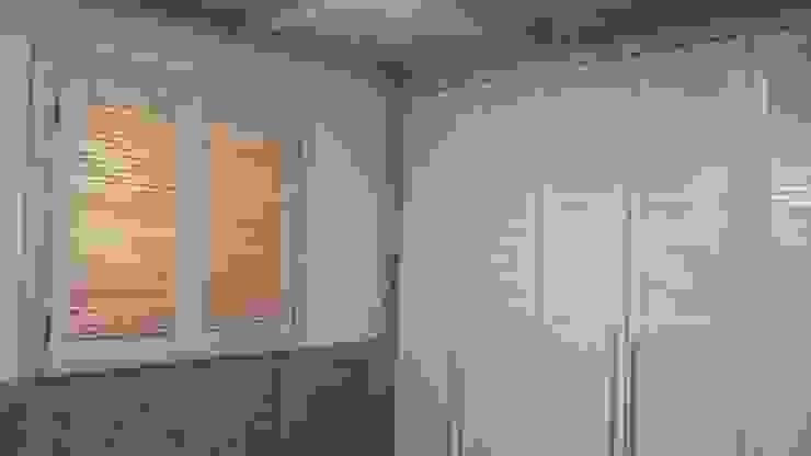 Slaapkamer door E-포레스트, Modern