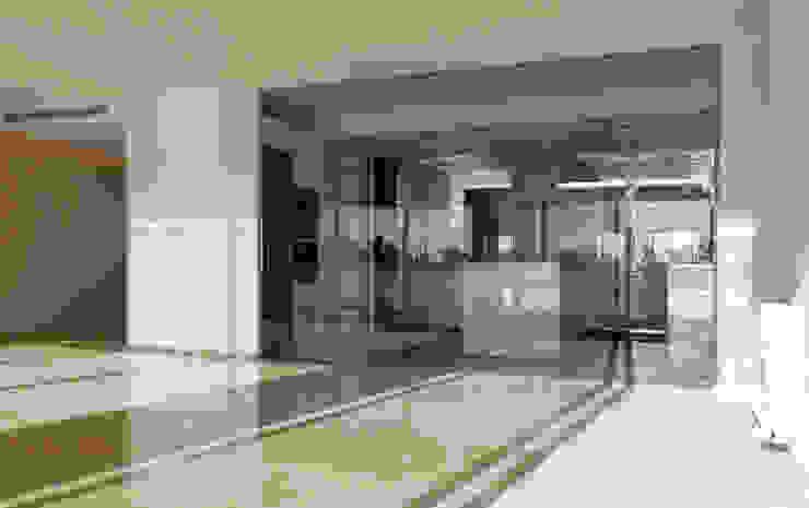 Cristalera Puertas y ventanas de estilo mediterráneo de CM4 Arquitectos Mediterráneo