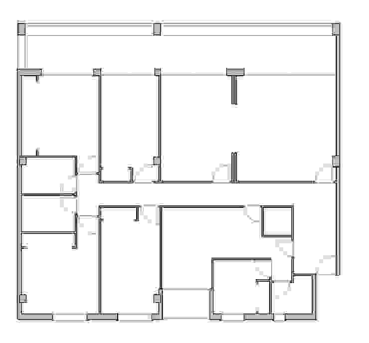 Reforma de vivienda en Córdoba de CM4 Arquitectos Minimalista