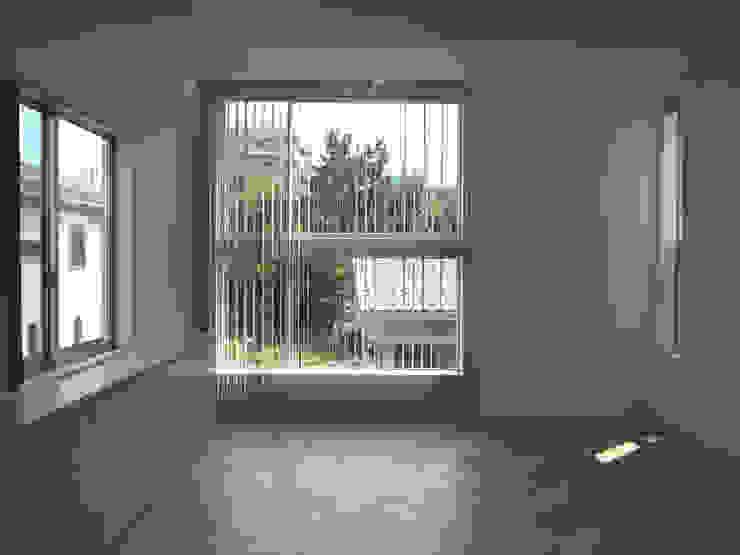 ムサシコスギ K邸 モダンデザインの リビング の 有限会社スタジオA建築設計事務所 モダン
