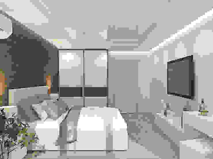 Спальня Спальня в эклектичном стиле от Kalista Эклектичный