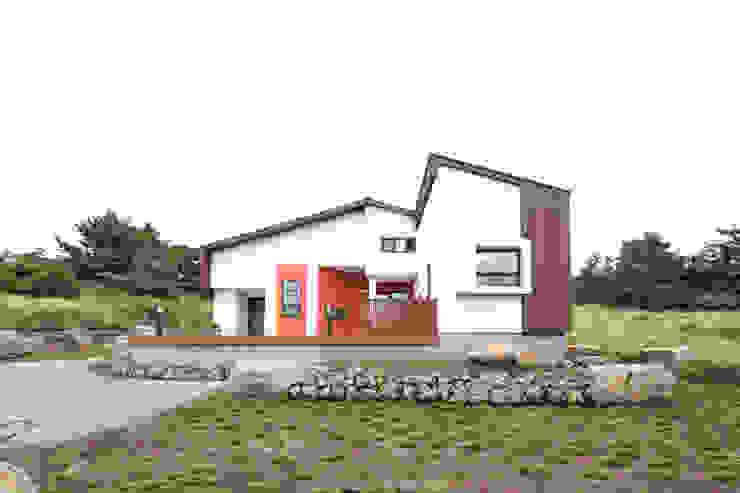 Projekty,  Domy zaprojektowane przez 주택설계전문 디자인그룹 홈스타일토토,
