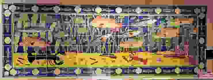 Waitrose fish panel by Reptile tiles & ceramics Classic