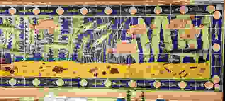Waitrose fish panel 2 by Reptile tiles & ceramics Classic