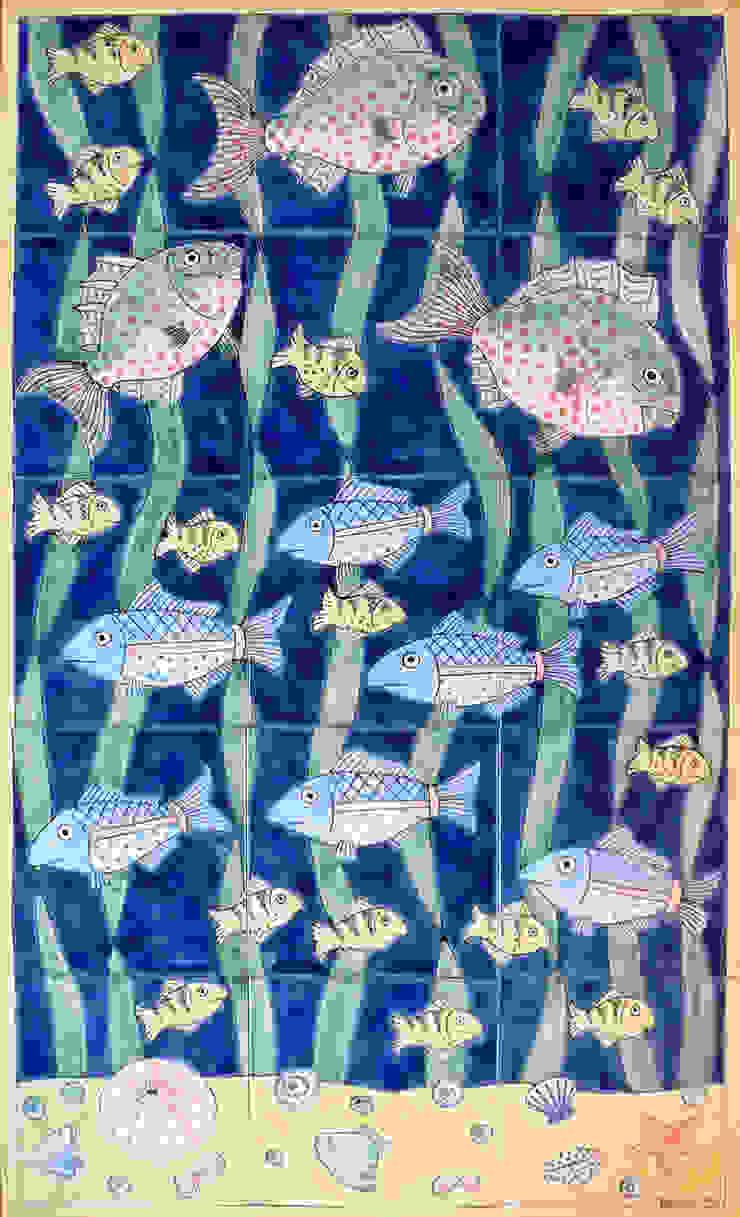 mediterranean  by Reptile tiles & ceramics, Mediterranean